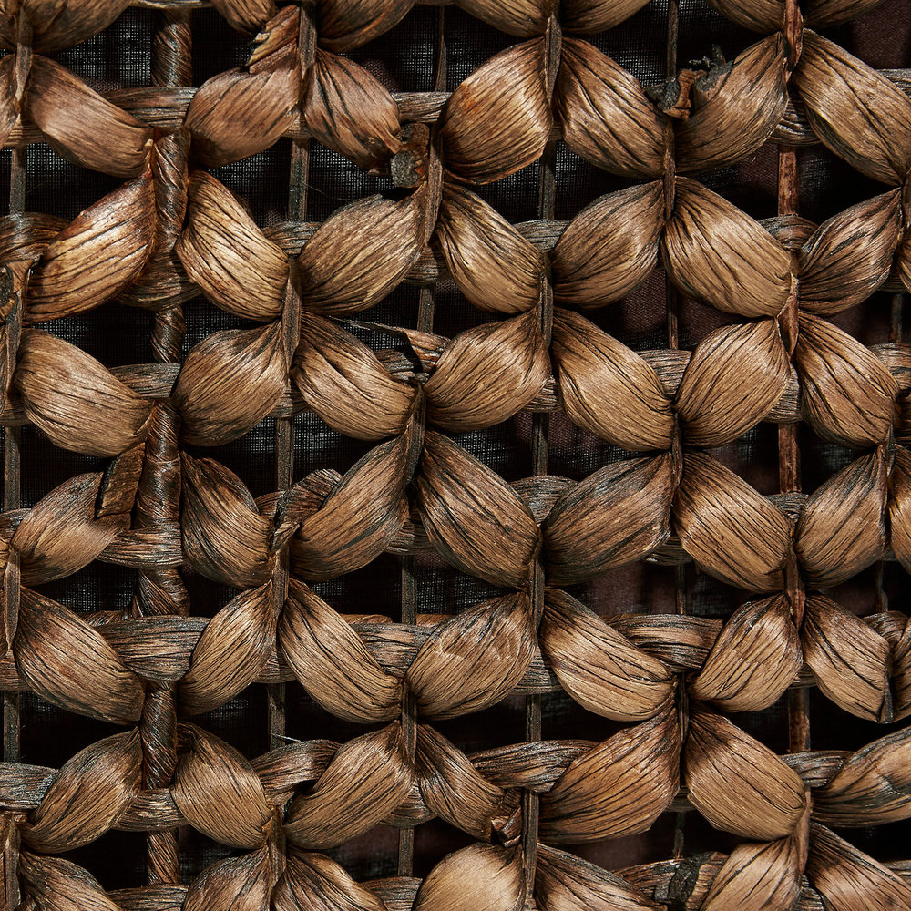 Stained Water Hyacinth Weave