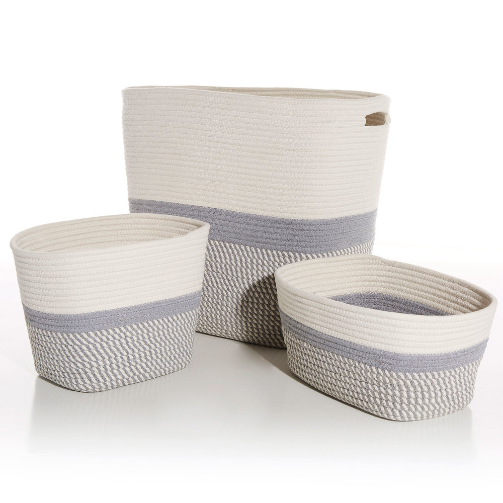 Callie Storage Baskets | 3 piece set