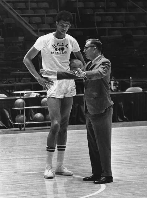 Lew Alcindor (KAJ) & Coach Wooden