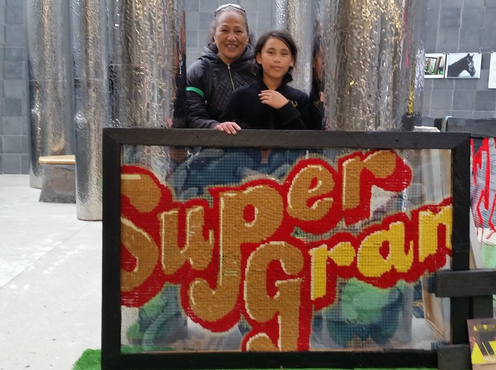 Super Gran | sprayed by Dager