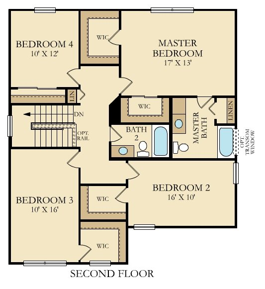Tahoe Second Floor - Floor Plan.jpg