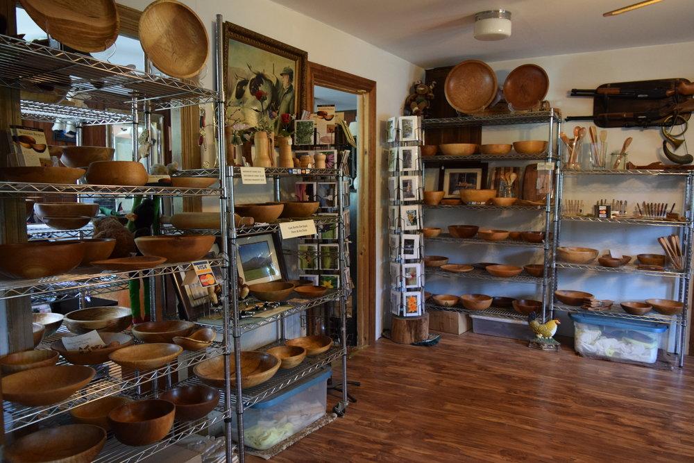 Sanderson's Wooden Bowls