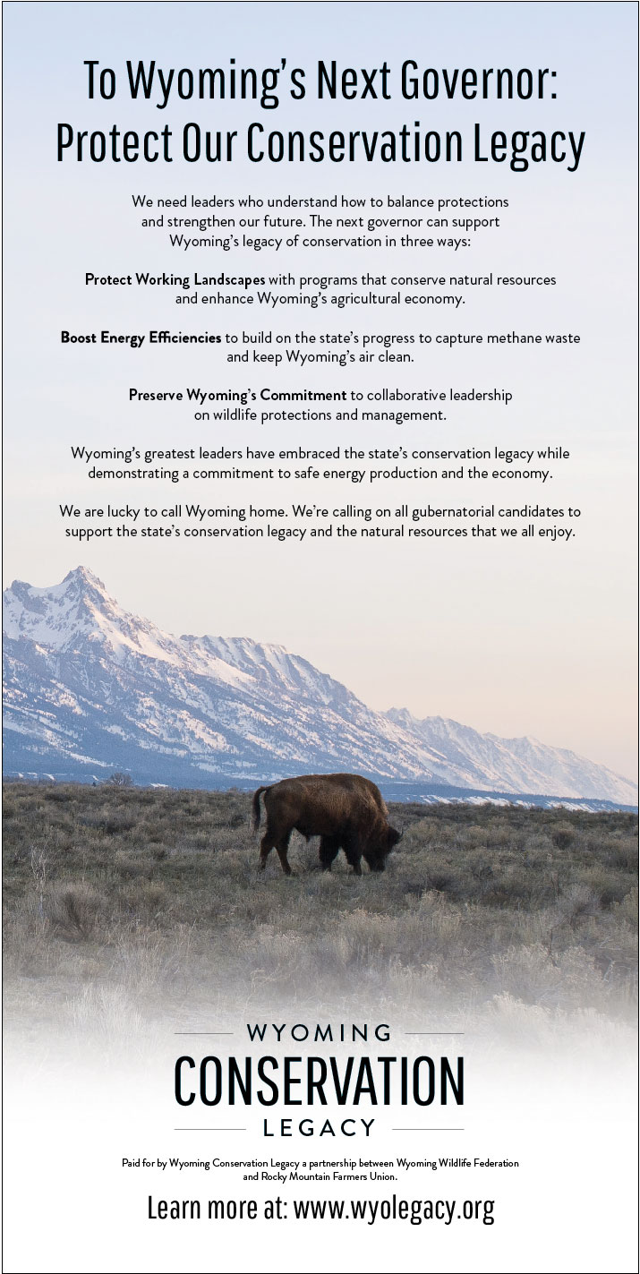 Wyoming Conservation Legacy Print Ad