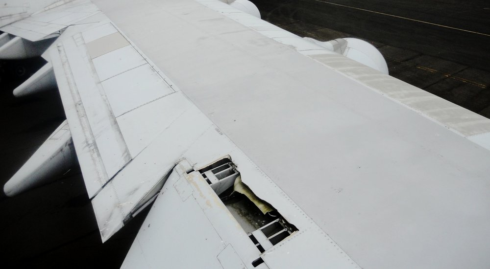 Flight Control Surface: Storm Damage Airliner