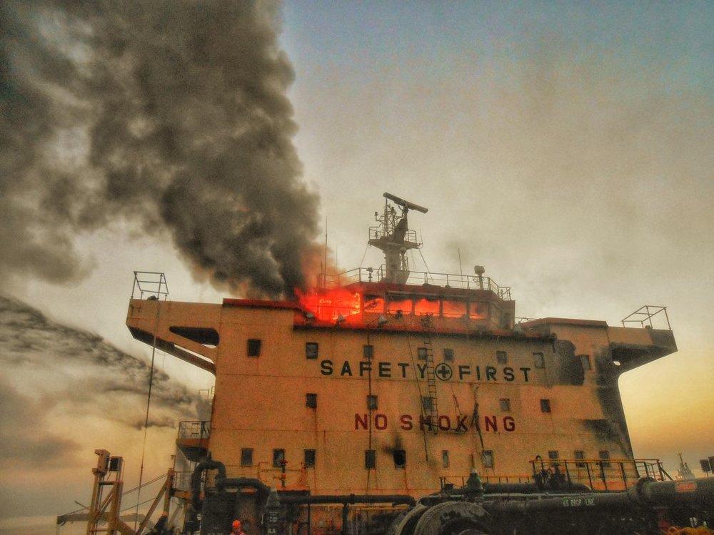 Vessel Explosion