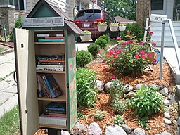 Little Free Library, image by Woofiz