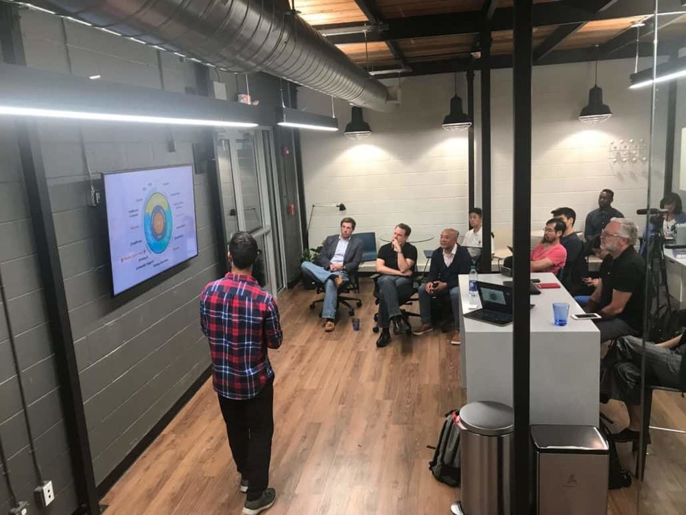 A Founder's talk at BUILT. Bringing together a lively community of entrepreneurs over valuable content every Tuesday evening.
