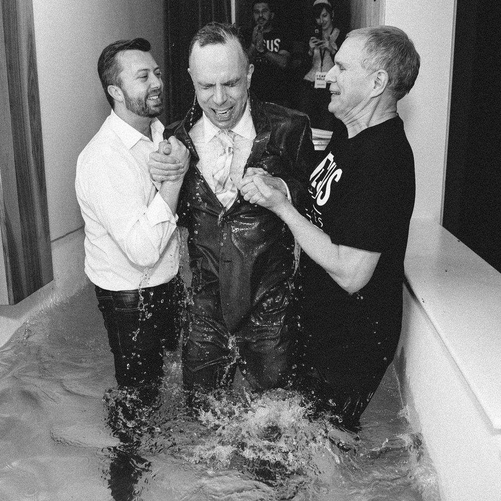 water come down day you were baptized