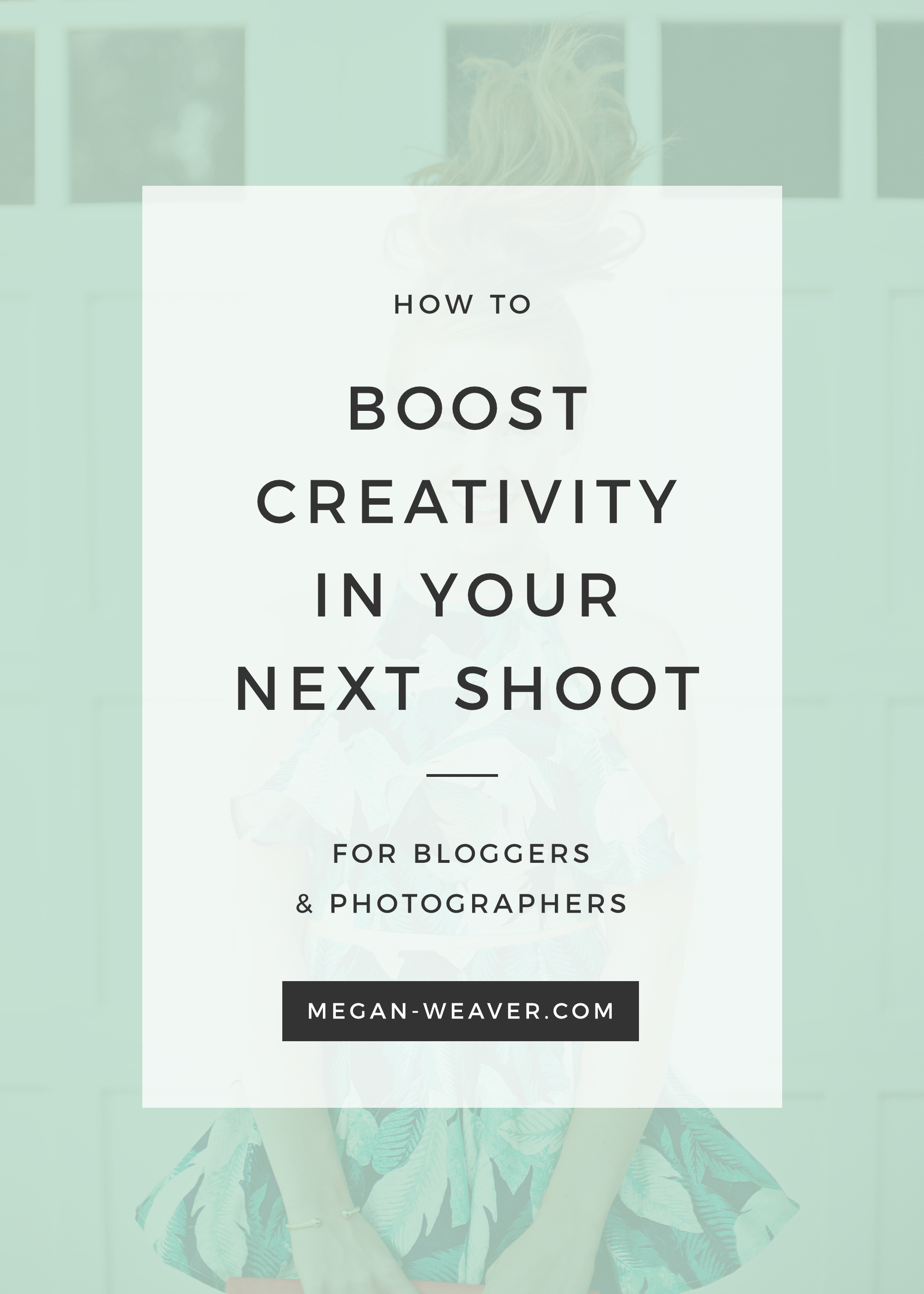 Stand apart from the crowd and let your blog photos shine. How to boost creativity in your next shoot.