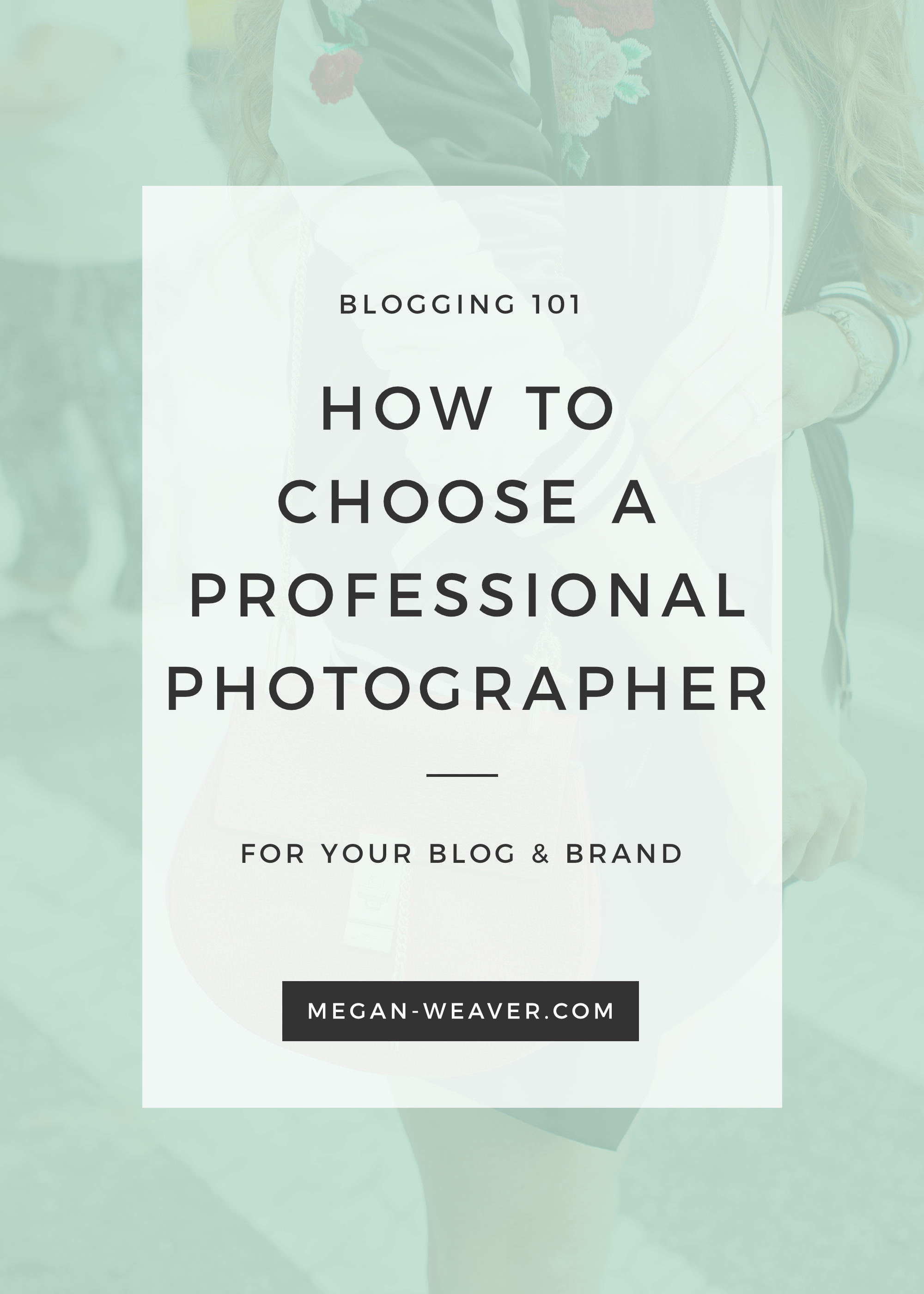 If you'd like to take your blog or business to the next level, I'm sharing my tips on finding and hiring a professional photographer for your brand!