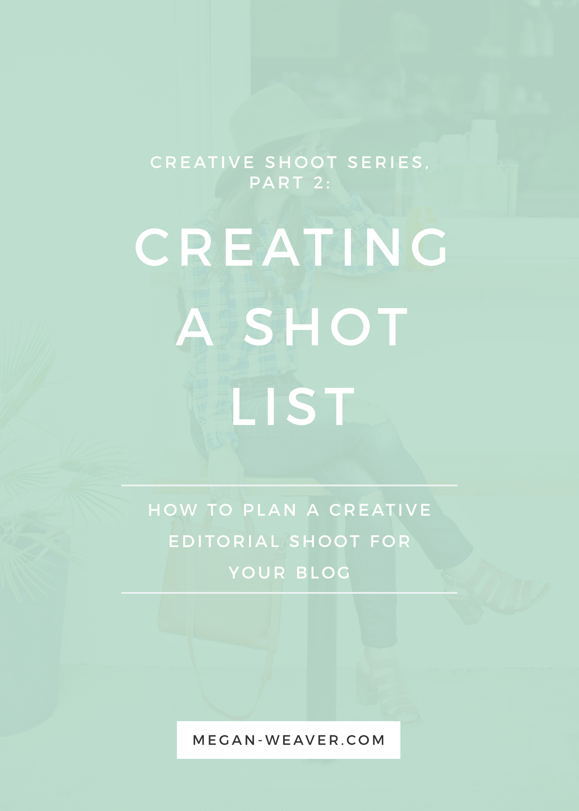Part 2 of our Creative Shoot Series is learning how to put together a shot list for your photographer—that not only includes your favorite shots, but also tells a complete story!