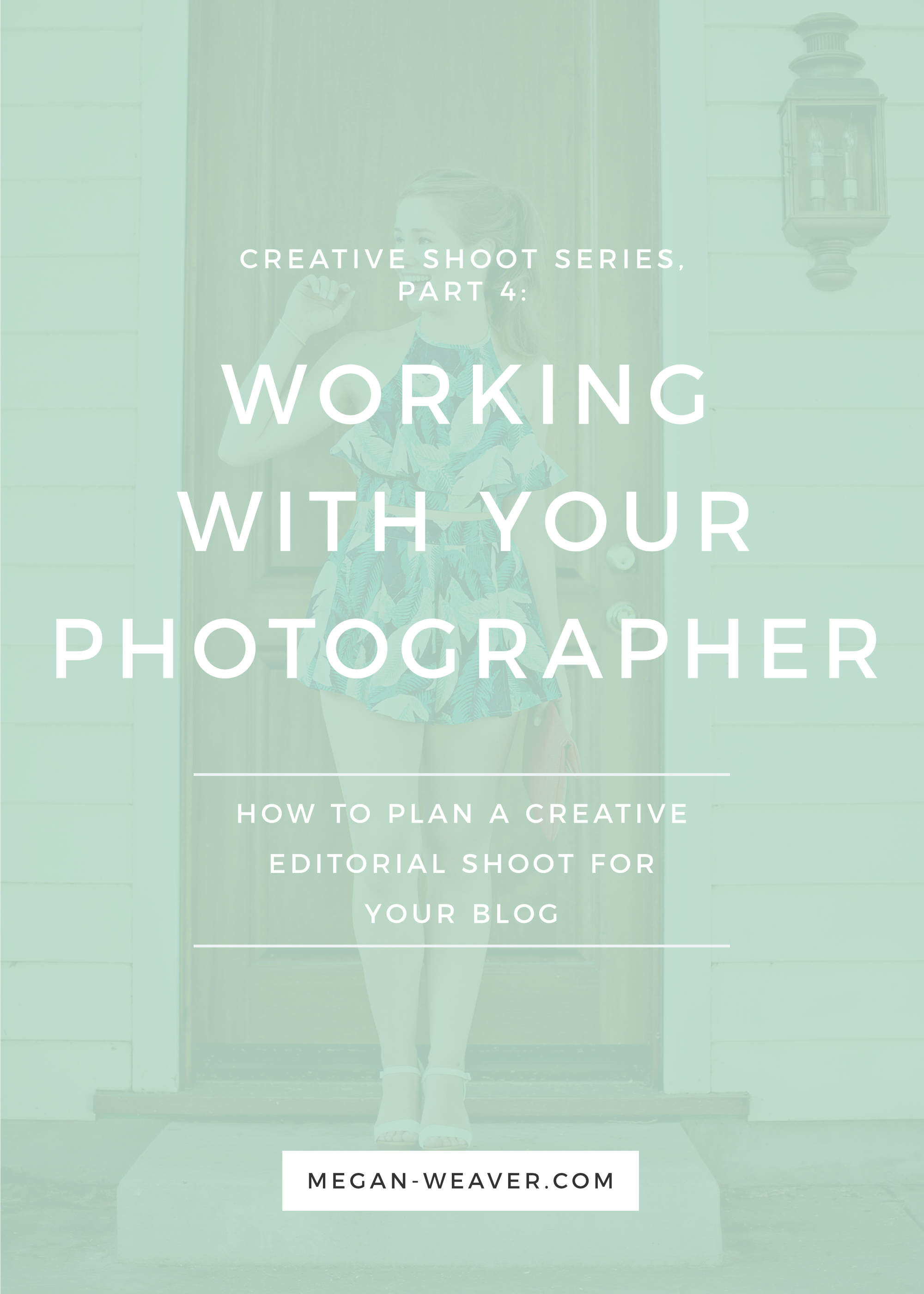 Part 4 of our Creative Shoot Series is all about working with your photographer—from how to find the best one for your brand to coordinating plans for a successful shoot.