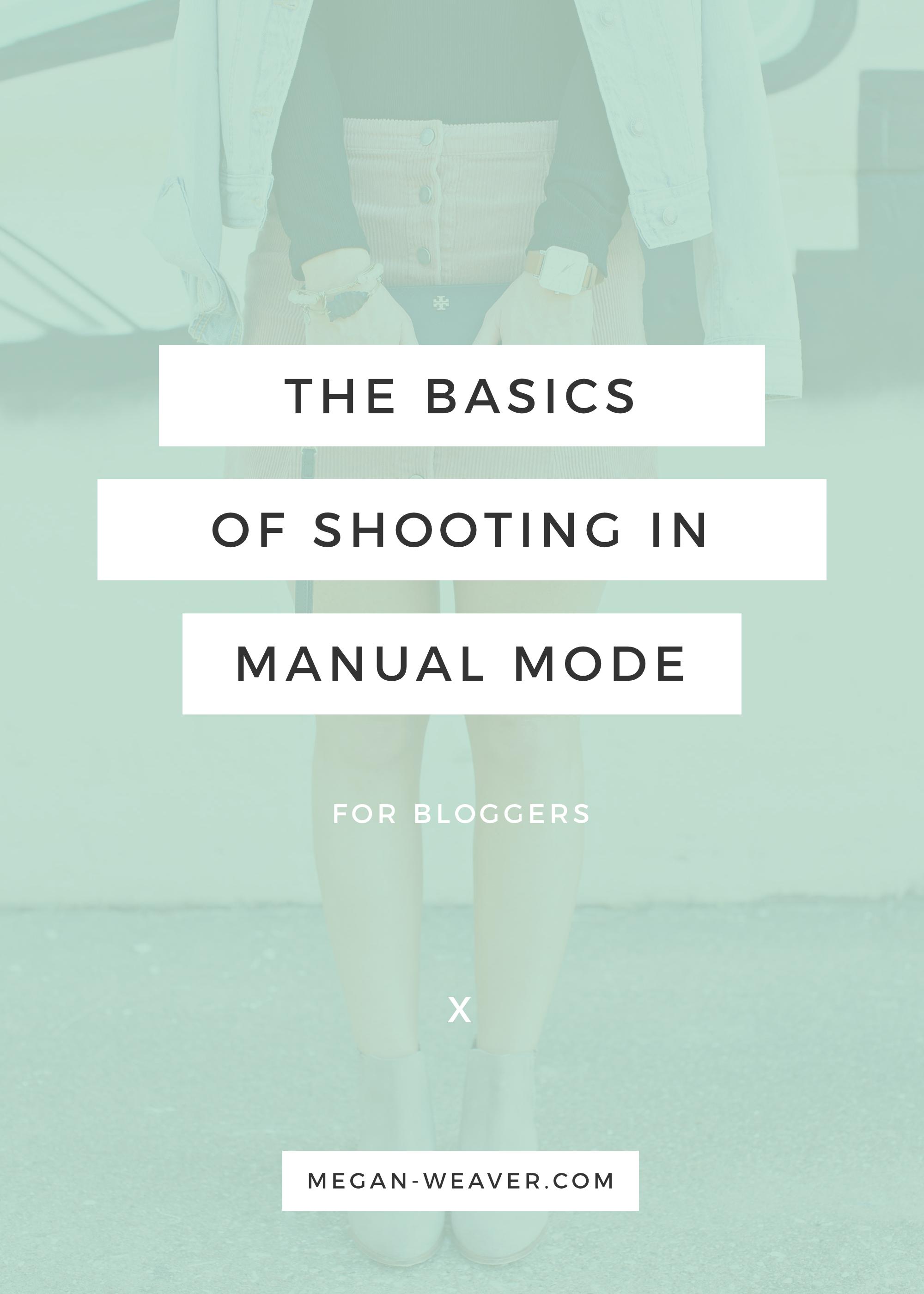 Shooting in manual mode can be tricky, but if you want the best photos for your blog, it's definitely a skill worth learning. Luckily, we've made it easy for you with this basic tutorial! You'll be a pro in no time.