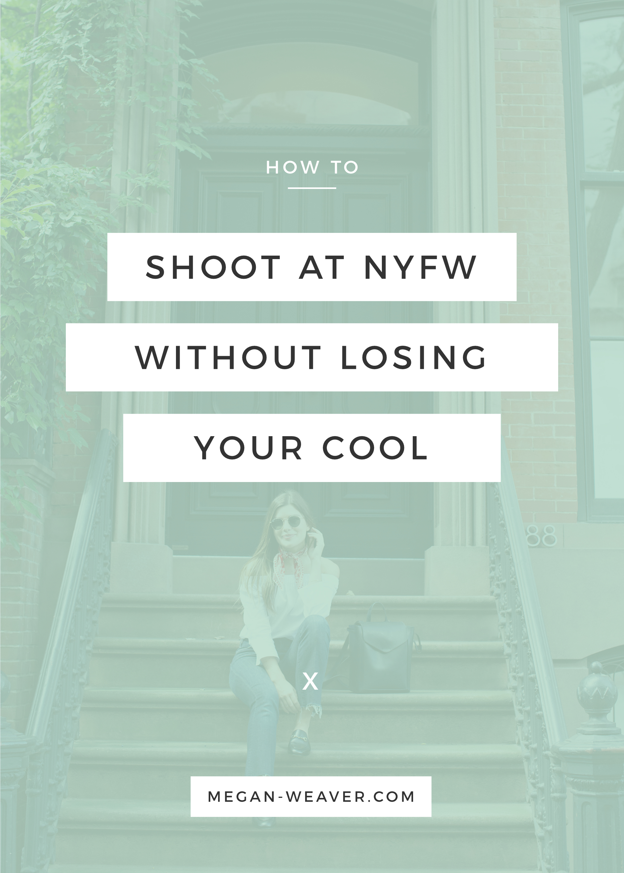 Do you dream of shooting at New York Fashion Week? In this tutorial, I'll let you in on my secrets to keeping your cool as a first-time NYFW photographer.