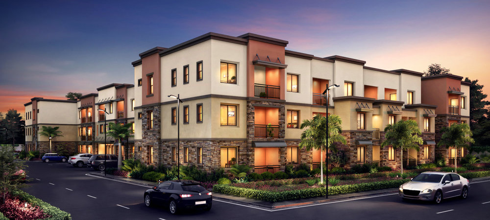 Lincoln East Apartments - — Cypress, CA —