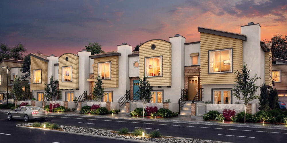 Walker Townhomes - — Cypress, CA —