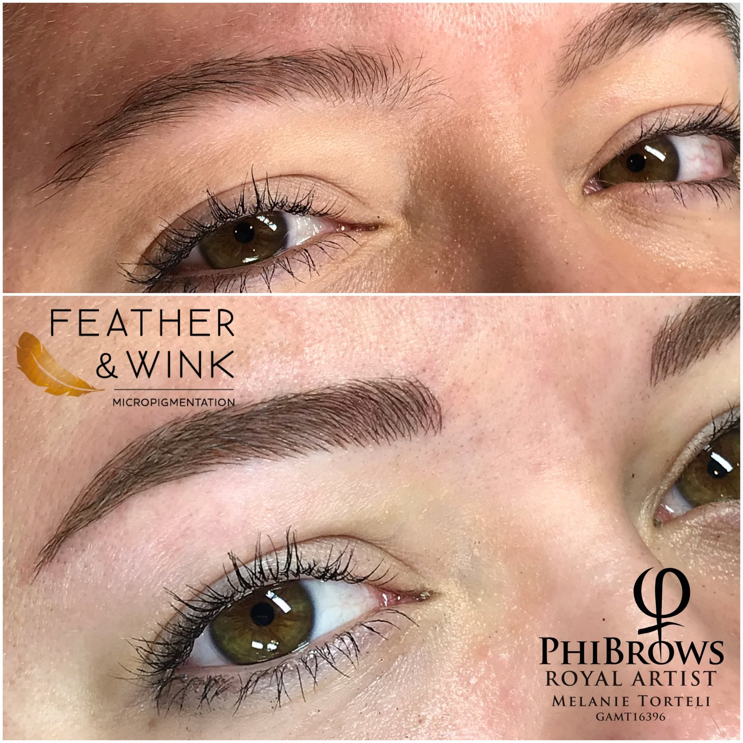 Feather And Wink Micropigmentation
