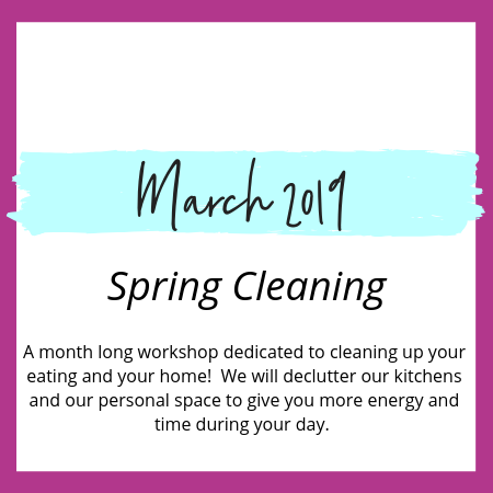 Spring Cleaning in March
