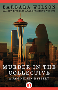 Seattle printing collective owner Pam Nilsen is on the case when a member of the group turns up dead before a controversial merger -