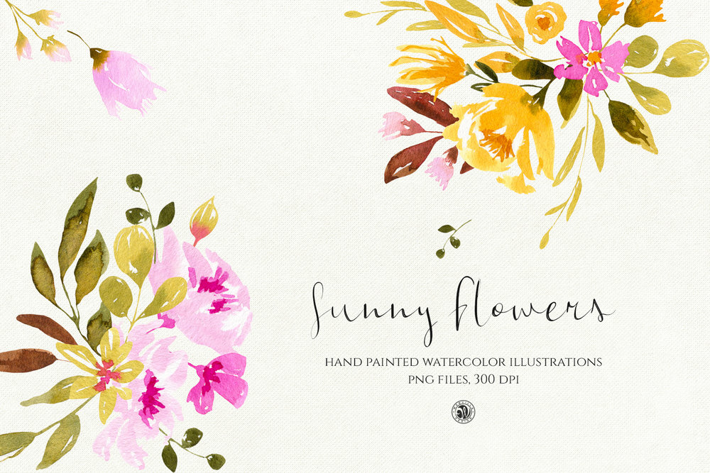 Sunny Flowers - Price $11
