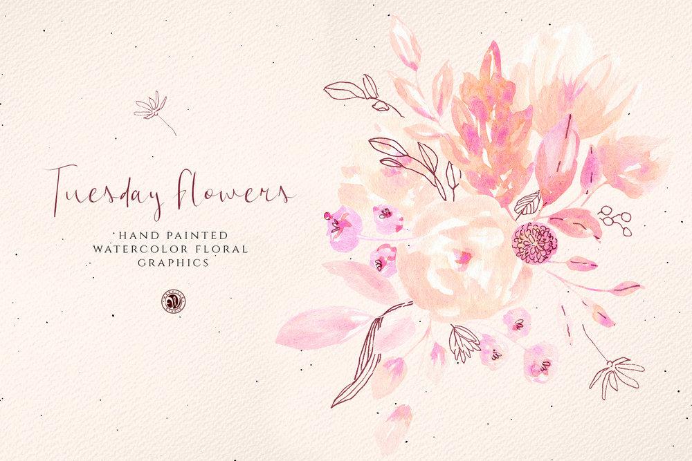 Tuesday Flowers - Price $6