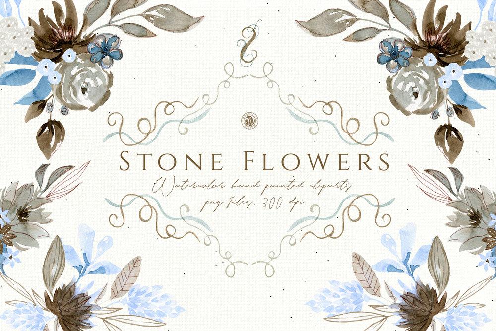 Stone Flowers - Price $14