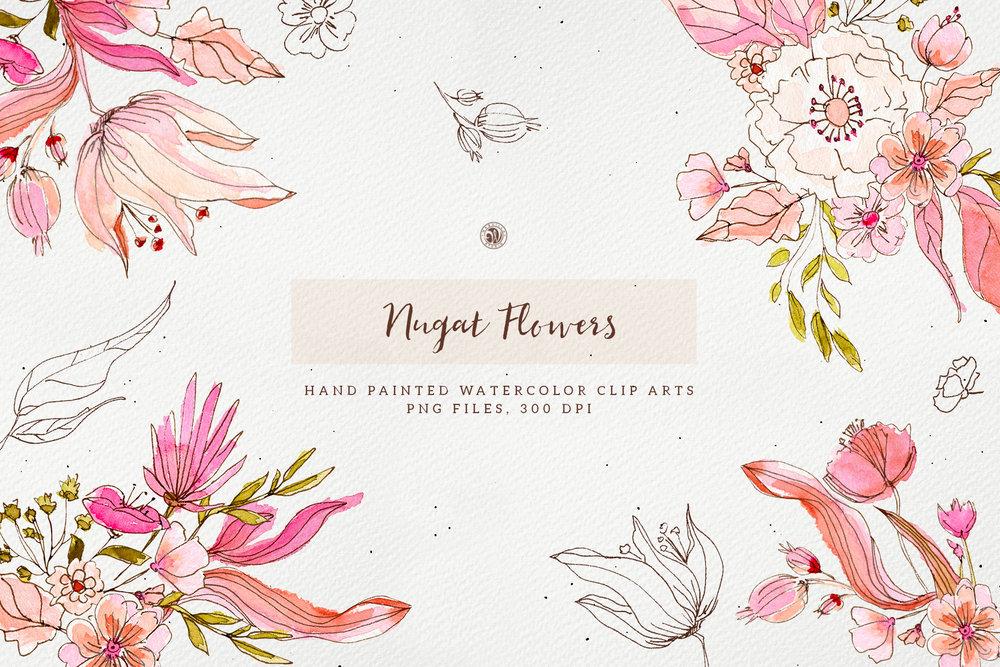 Nugat Flowers - Price $9