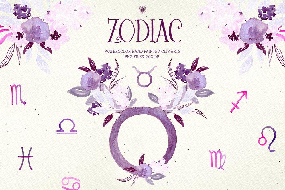Zodiac Signs - Price $12