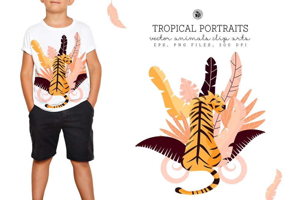 Tropical Portraits - Price $14