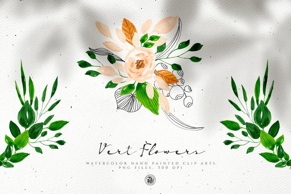 Vert Flowers - Price $10