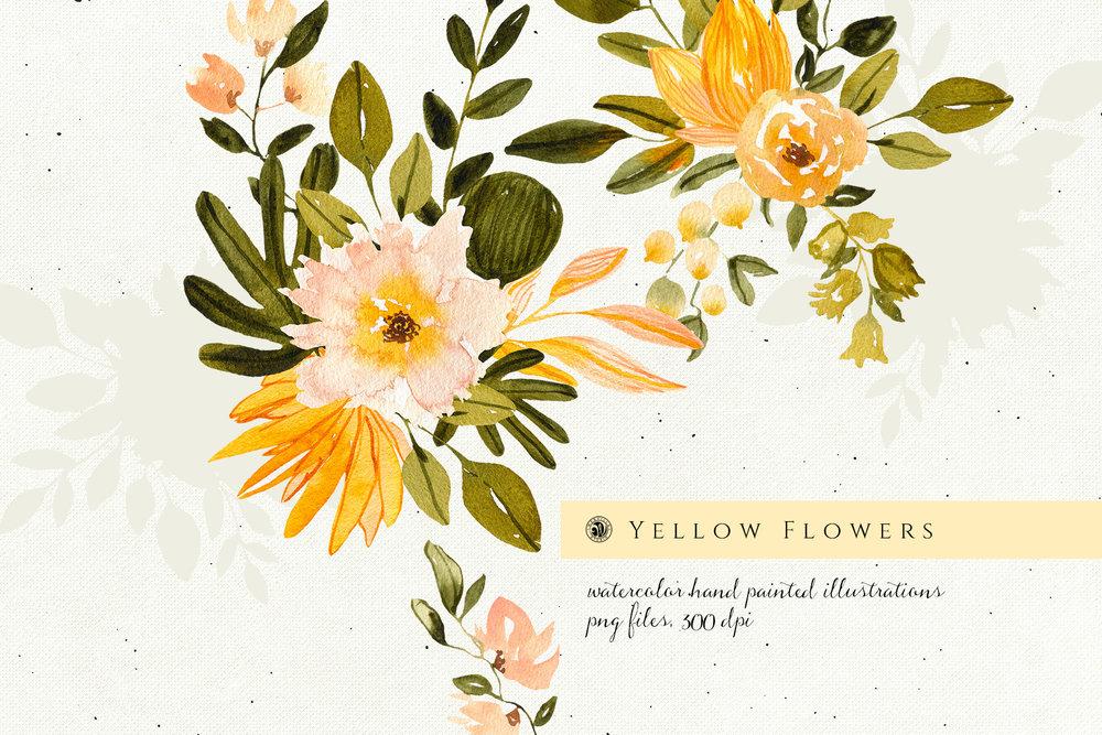 Yellow Flowers - Price $10