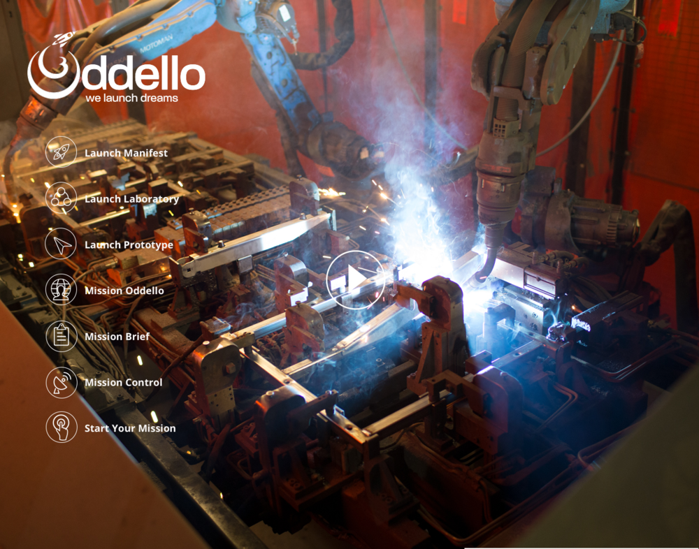 Brand Awareness - Oddello was a well performing company; yet without a brand or a website. Given Oddello's customer base, all well-established Fortune 500 companies, they needed to have a world class website. Sprout brought their team of top-tier web designers, artists, and content creators to the table in order to develop the Oddello website.
