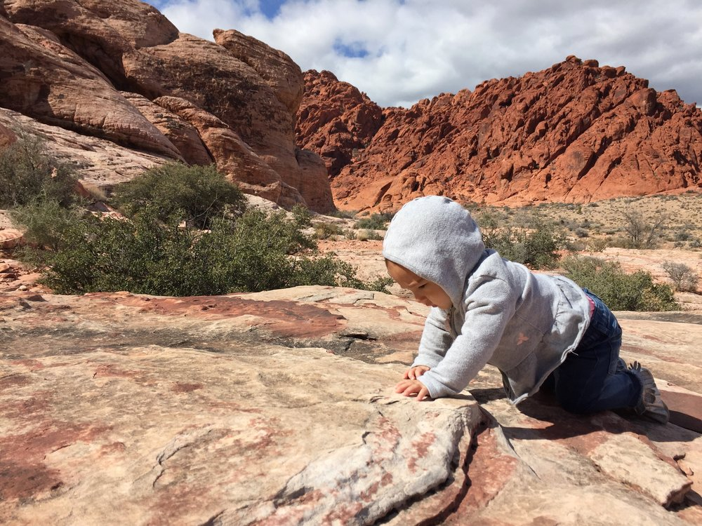 Hayley at Red Rock Canyon