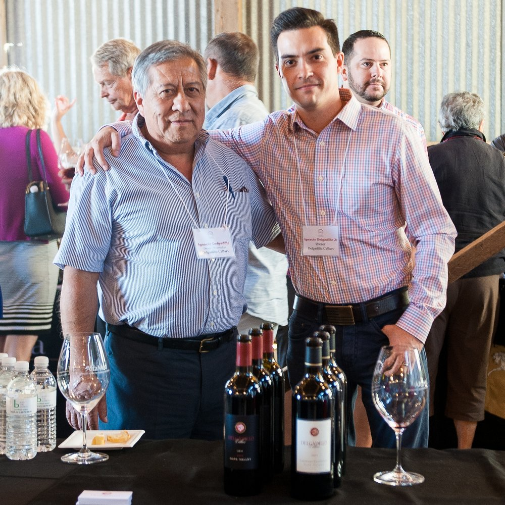 Ignacio Delgadillo Cellars Mexican American Vintners Association Napa Valley