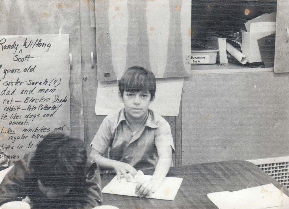 Circa 1975: Mi Sueño Winery Owner and MAVA Founder  Rolando Herrera in school as a young child.  (Photo:  Mi Sueño Winery  via Smithsonian's National Museum of American History)