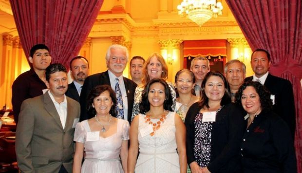 Circa 2014: Mexican American Vintner's Association recognized at California's State Capital for contributions to the wine industry during Hispanic Heritage Month.