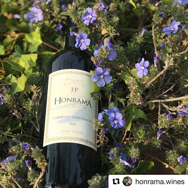 #Repost @honrama.wines  Cheers to the weekend with this beautiful bottle of 2014 Cabernet from Honrama Cellars! 🍷😍