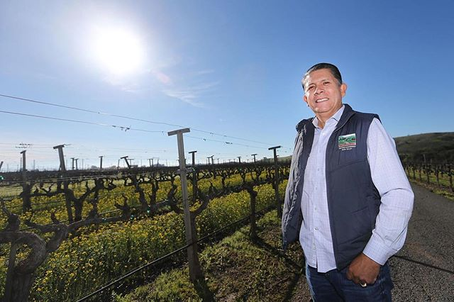 """🗞 IN THE NEWS: MAVA Member Enrique Lopez of  @encantovineyards  didn't originally plan to get into the wine industry. In 1983, he graduated from a university in Mexico with a degree in chemical engineering.  See the full article """"10 Questions with Enrique Lopez"""" via the Napa Valley Register!"""