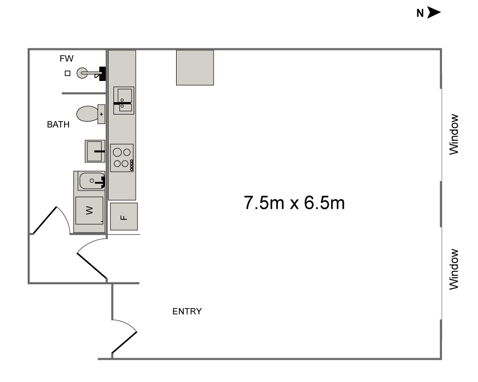 photography-studio-northcote-floor-plan