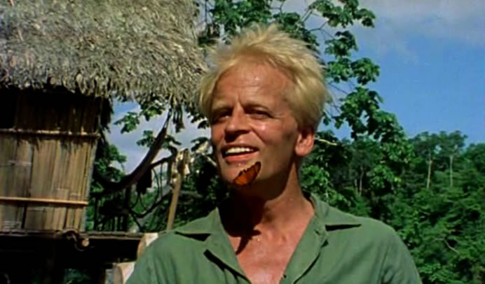 """Every grey hair on my head, I call Kinski."""