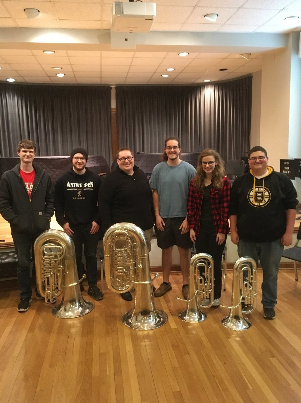 Louisiana Tech Low Brass Master Class, 2018