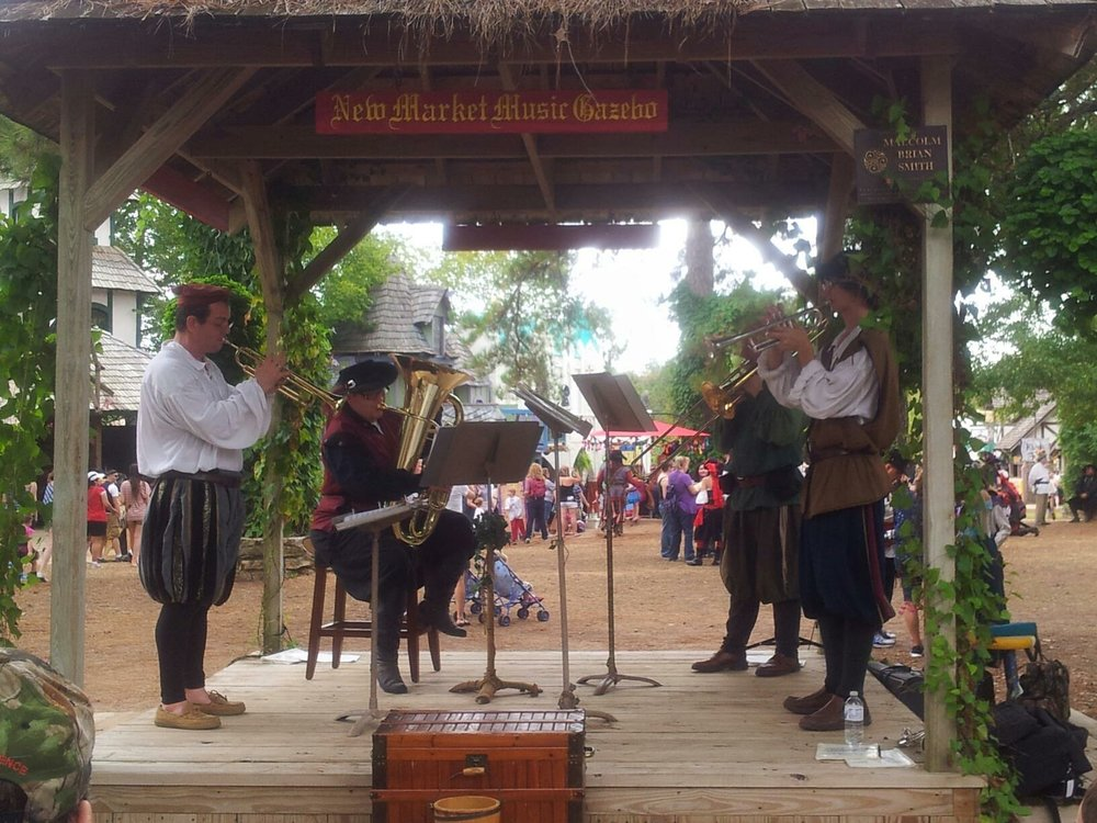Texas Brass at the Texas Renaissance Festival, 2012