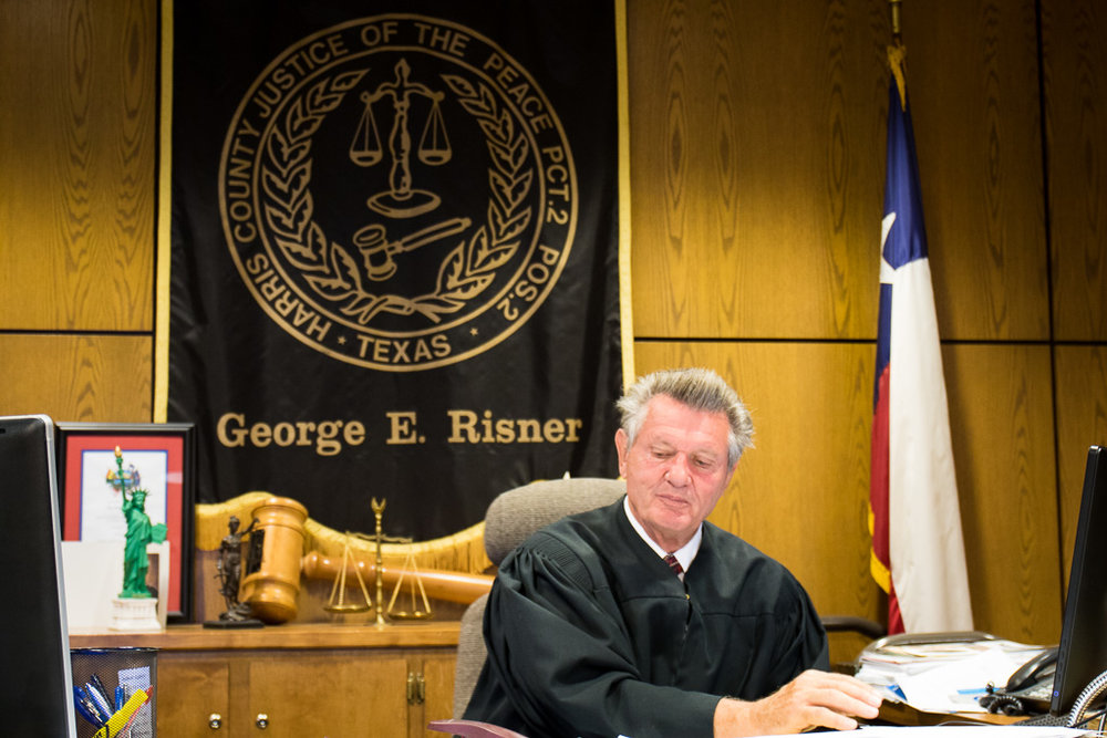 Judge George Risner - Pasadena, Texas - Precinct 2, Place 2