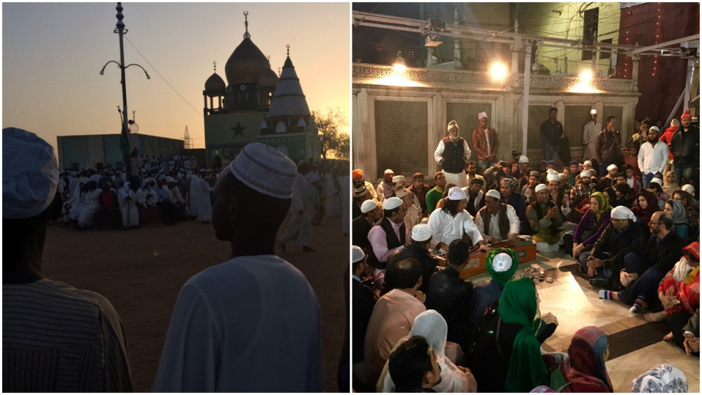 A tale of Two Dervishes - Two of the coolest places you can visit in the cities of Khartoum, Sudan and Delhi, India, happen to be significant Sufi shrines. There is remarkable singing to be found at both.