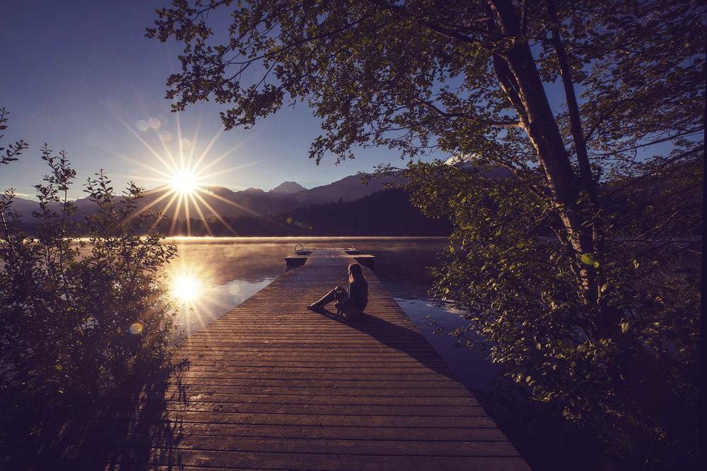 Sunrise in Whistler, BC