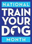 National Train Your Dog Month Logo.jpg