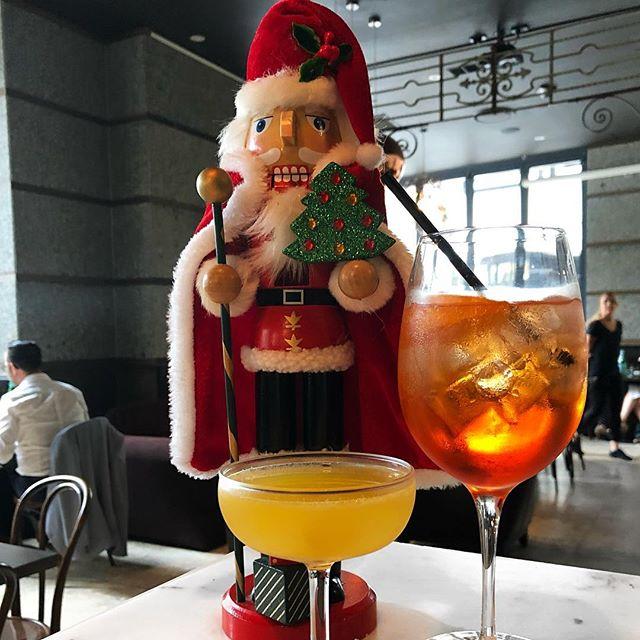 Celebrate Christmas At The Lane with Our Christmas Cocktails 🍹 . . . . #restaurant #thelane #cocktails #christmas #sillyseason #aperolspritz #gin #santa