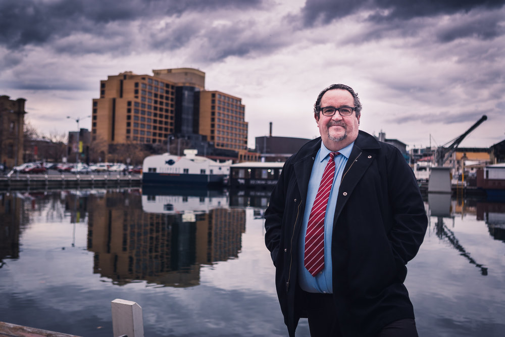 I want to see Hobart become a modern, efficient, connected city that meets the demands of the present whilst preparing for the future - - Darren Alexander