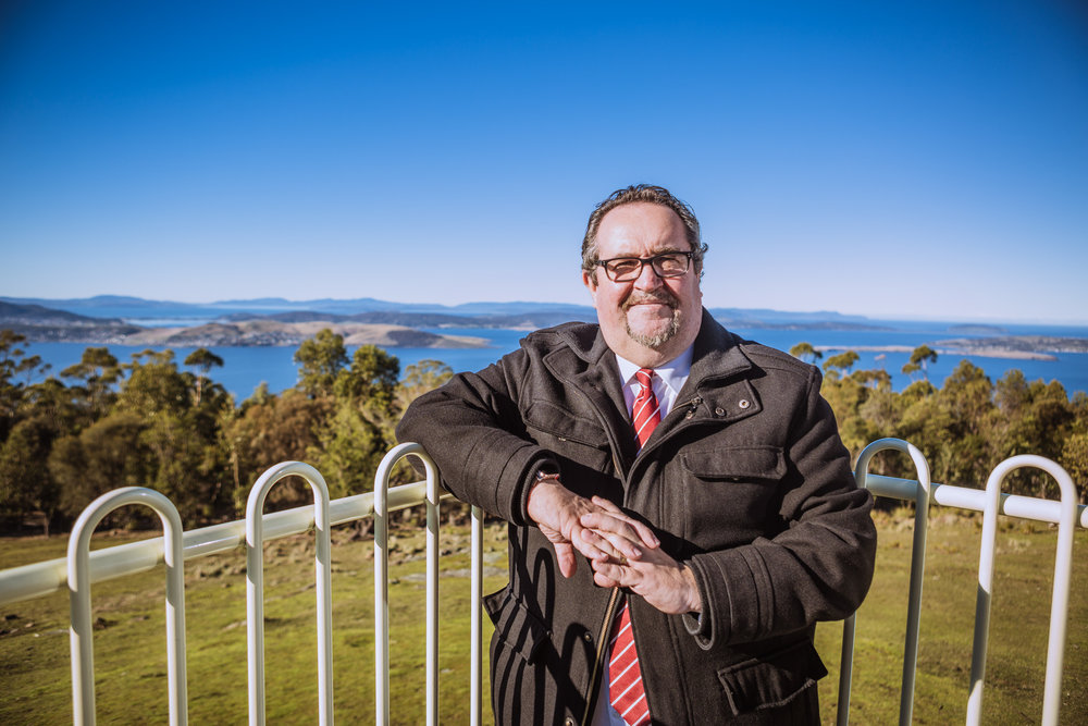 I want Hobart to be Australia's best regional capital city - - Darren Alexander