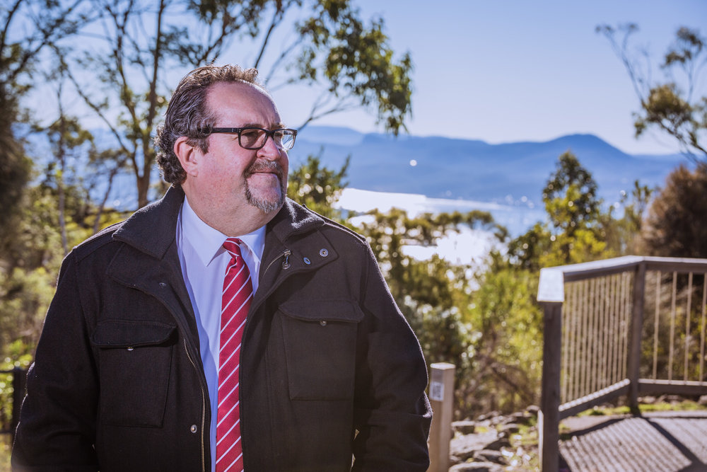 Darren Alexander has both the business and local government experience and qualifications required to provide strong common-sense leadership for Hobart. (Photo: Beetle Black Media)